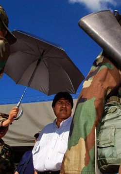24 Hours with Evo Morales